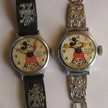 1933-34 Mickey Mouse Wristwatches - Wristwatches