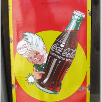 German Coca Cola Sign - Coca-Cola