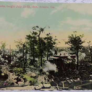 Battle of Atlanta, Real-Photo Postcard