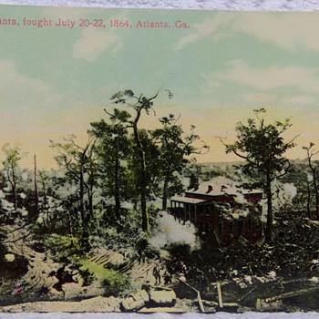 Battle of Atlanta, Real-Photo Postcard