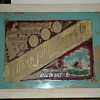Frank Jones Brewing Company glass sign