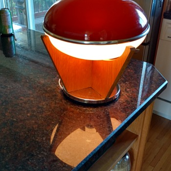 70's Spaceship Lamp?