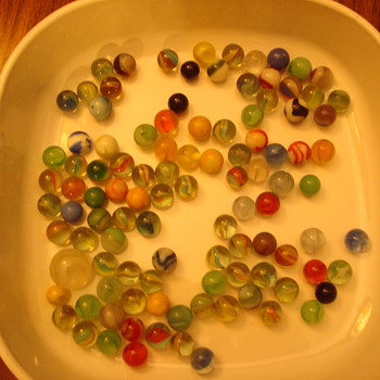 Old Marbles - Art Glass