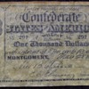 CONFEDERATE 1000 NOTE