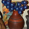 Giant Blue Glass Grapes?!