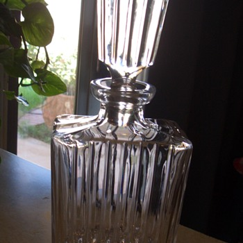Two Beautiful Crystal pieces, Gorgeous Pitcher and Very nice decanter - Glassware