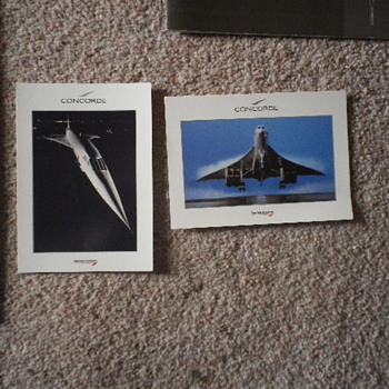 Concorde Passenger flight welcome pack, all complete. - Advertising