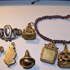 antique metal charms Copper???