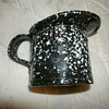 U.S. Navy  Graniteware 1 GIL  MEASURING PITCHER