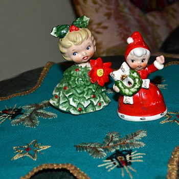 Pixies that belonged to my Memere [grandmother] - Christmas