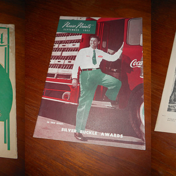 An assortment of Coca-Cola Bottling Plant Newsletters - Coca-Cola