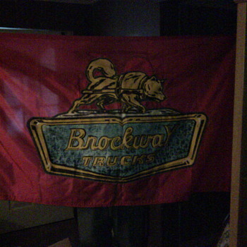 Brockway Truck Flag