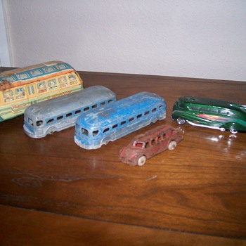 a few buses from my toy box. - Model Cars