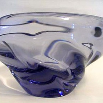 1950s Skrdlovice -- Jaroslav Beranek - Art Glass