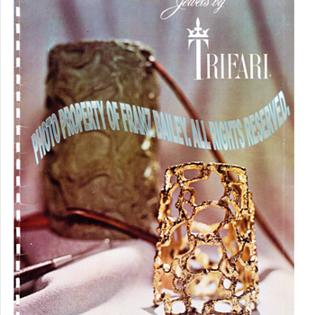 Jonathan Bailey,  Trifari's 1970 Fall/Winter catalog.