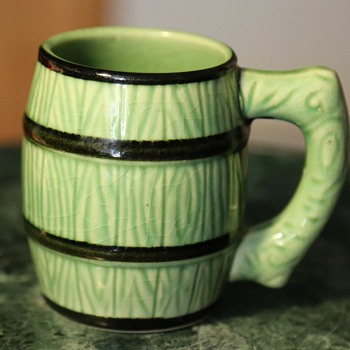 Barrel Mug - made in Japan - Art Pottery