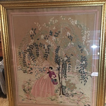 Can someone tell me about this Folk Art? - Sewing