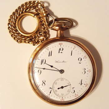 Hamilton 17 Jewels Pocket Watch