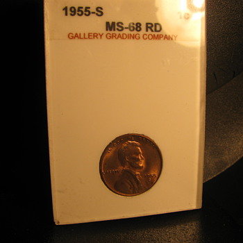 1955 s Penny - US Coins