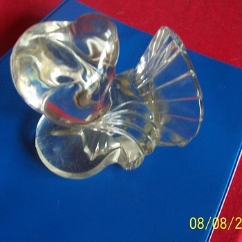 Clear Glass Bird - Art Glass