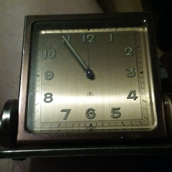 "Trying to learn more about this Swiss ""15 rubis 8 day clock"""