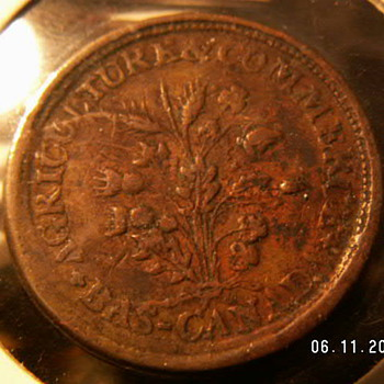 "1837 Canada ""Hard Times"" Token - World Coins"