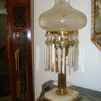 My antique lamp from another century - Lamps