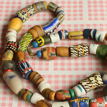 African bead necklaces - Fine Jewelry