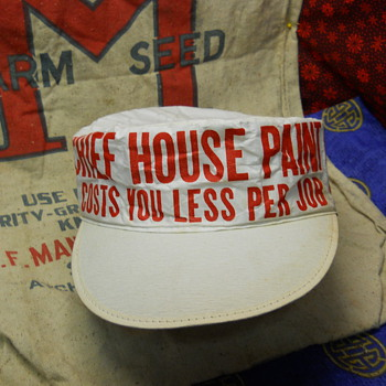 Painters Hat: Chief House Paint, Chicago Paints, Inc, Chicago - Advertising