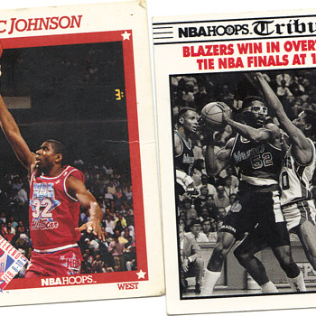old basketball cards - Basketball