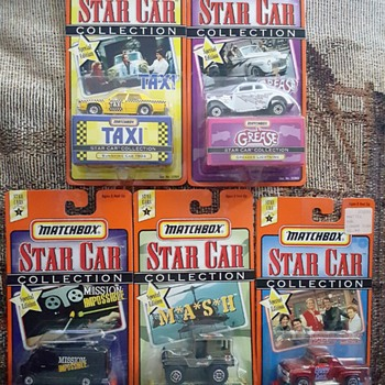 Matchbox, Star Cars.