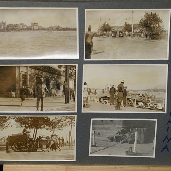 "1900's  DOCTOR'S PHOTOGRAPHS TAKEN IN  ""TSINGTAU, HONG KONG & ""SHANGHAI"""