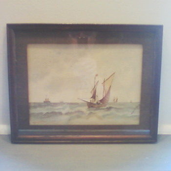 Folk Art SeaScape (Grace Hughes)