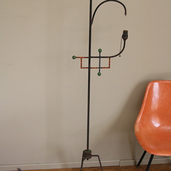 Wrought Iron Floor Lamp?  - Lamps