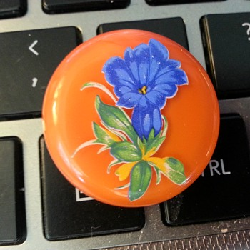 Painted button?