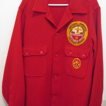 1960 Boy Scout Jacket with Jamboree Xtra-Tough Patch