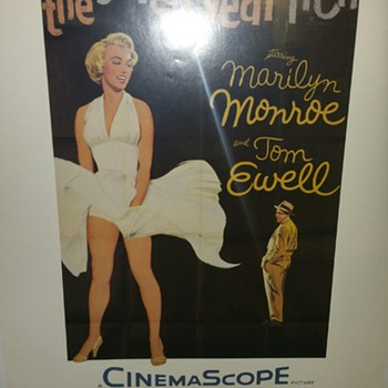 Marilyn Monroe Poster -The seven Year Itch - 1986