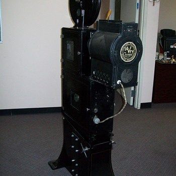 1936 Herman A. DeVry 35mm Projector