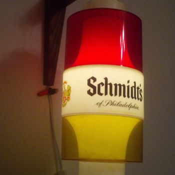 my old Schmidt's beer light