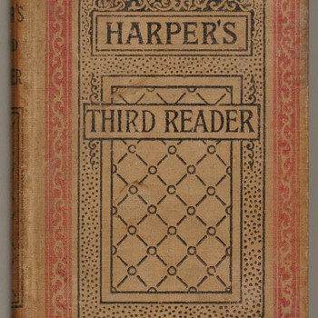 1888 - Harper's Third Reader Schoolbook