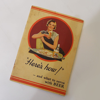 Hamm's beer recipe book 1939  - Books