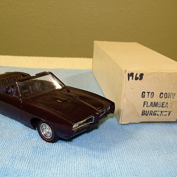A Few Pontiac and Chevrolet Promo Model Cars - Model Cars