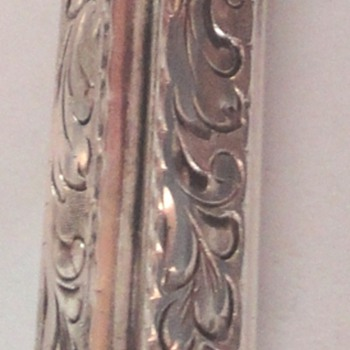 My third vintage silver lipstick holder