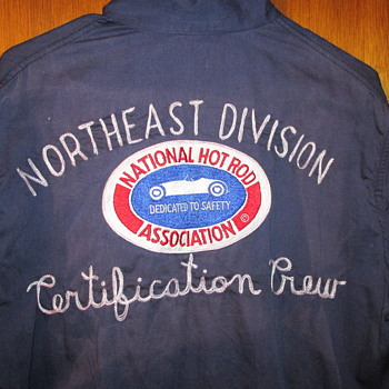 Vintage 1960's NHRA Official's Jacket