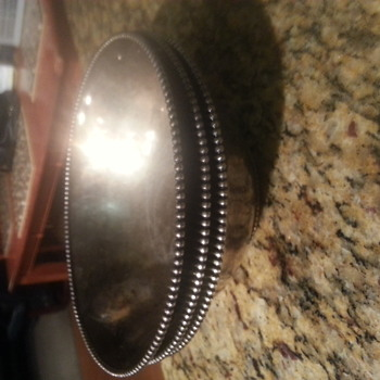 Early 1890 RARE Great Northern Railroad Nickel Silver Dining Car Bowls Set of 3
