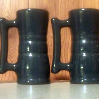 Frankoma  juice tumblers - Art Pottery