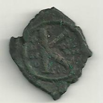 Ancient coin....Letter K - World Coins