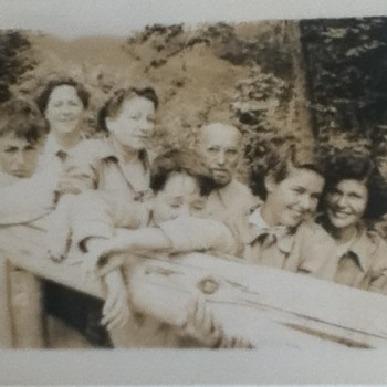 Late 1940s Family Photograph