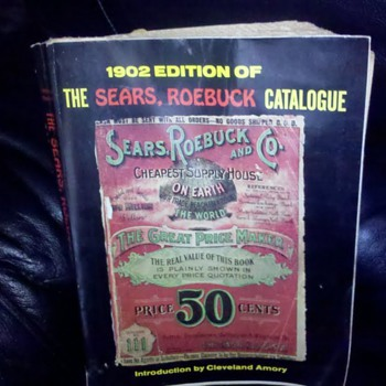 1902 Sears Roebuck Catalogue