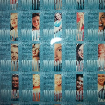 MARILYN MONROE COLLECTORS CARDS - Movies